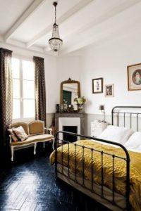Vintage slaapkamer ideeën