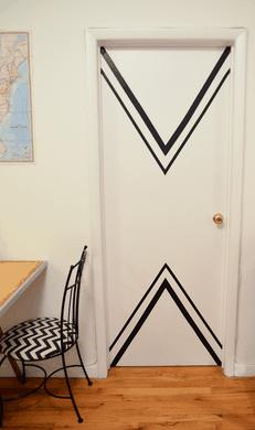 Deuren pimpen - stickers en patronen