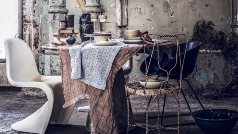 Vintage interieur - oud en nieuw