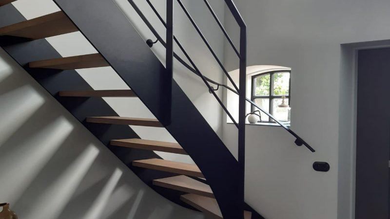 Upgrade voor je huis; stalen trap